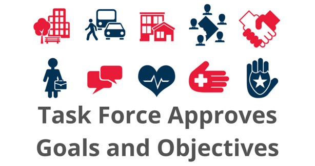 Task Force approves goals and objectives