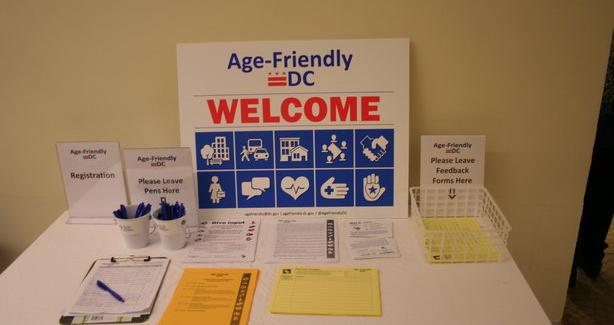 Age-Friendly DC Welcome Table